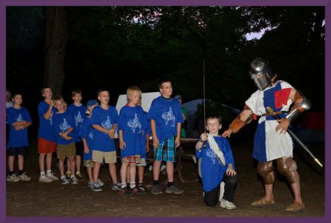 Knights' Quest Boy's Camp, FamFI