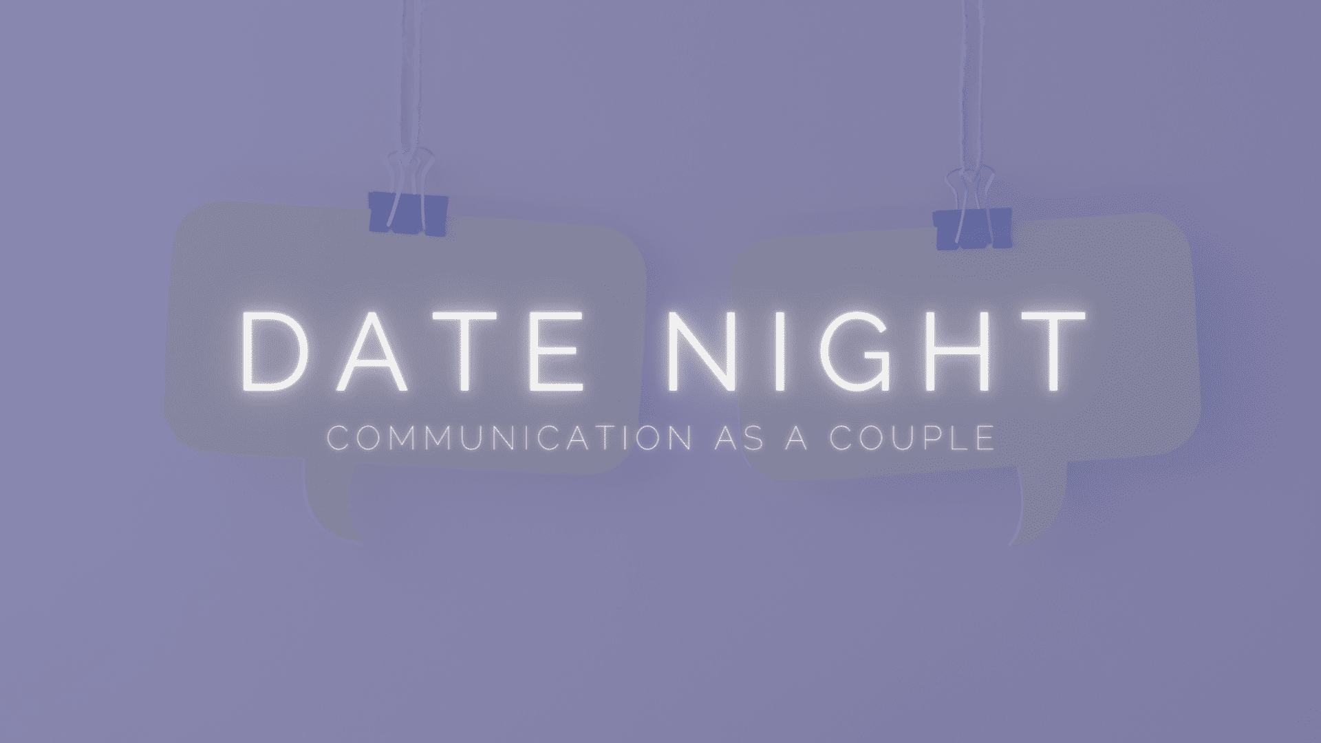 Date Night with FFI - Communication as a Couple
